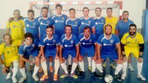 Almonte, equipo ganador del cuadrangular de fútbol sala.