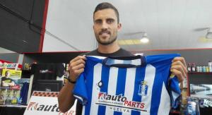 Arthuro Bernhart, nuevo delantero del Recreativo de Huelva.