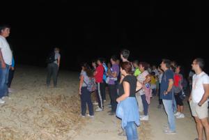 Senderismo nocturno por Escacena.