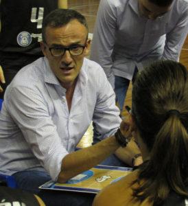 Gabriel Carrasco, técnico del CB Conquero.
