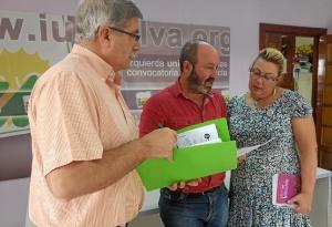 Juan Manuel Arazola, Pedro Jimene y Monica Rossi