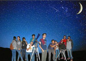 Noche Astronomica de Verano 2015