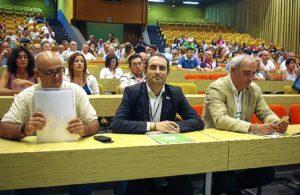 PA Miembros direccion nacional PA en sala XVII Congreso - Palacio Congresos Torremolinos