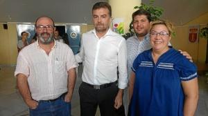Pedro Jimenez, Antonio Maillo, Marcos Toti y Monica Rossi en Zalamea01
