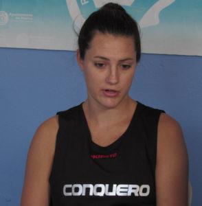 Haley Peters, ala-pívot del CB Conquero.