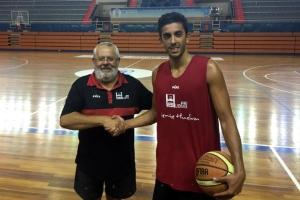 Javier Rodríguez Walls junto a Alex Moreno, nuevo fichaje del Huelva.