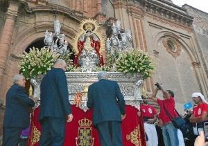 procesion de la virgen