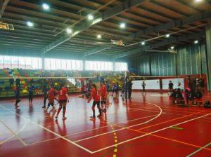 Jornadas de voleibol en la Diputación Provincial.