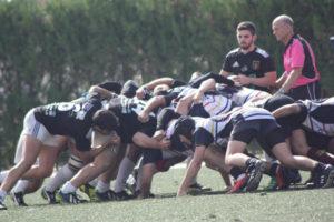 Bifesa Tartessos de rugby en Mairena.