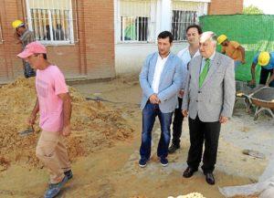 20151021 PROFEA Rociana obras colegio