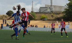 Fundación Cajasol Sporting-Athletic de Bilbao.