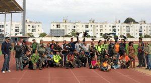 Algunos de los cetreros participantes en el encuentro nacional 2015