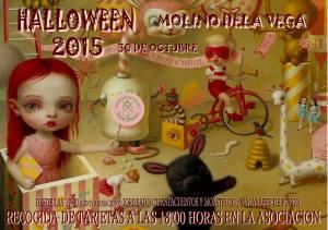 Cartel Hallowen Molino