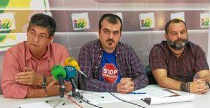 Daniel Hernando, en el centro de la imagen.