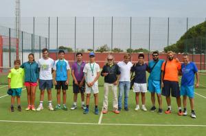 Torneo Fair Play de tenis en Punta Umbría.