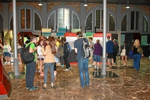 Estudiantes Glasgow Puerto de Huelva