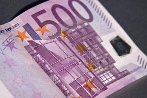 Euro moneda 500