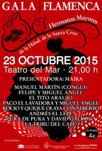 Festejos Santa Cruz Hermanas Mayores Gala Cartel