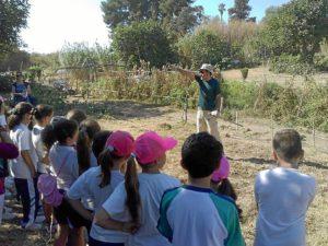 Huertos escolares Parque Moret