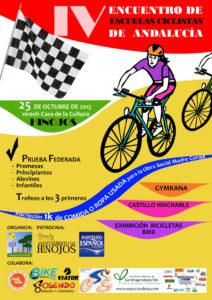 IV encuentro de ciclista vertical en Hinojos.
