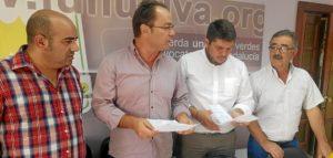 José Justo Martín, Francisco J. Camacho, Marcos Toti y Félix Rodríguez.