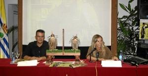 Montserrat Marquez y Marcos Alonso duratne la presentacion del Encuentro