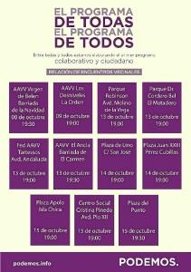 Programa de Todos Huelva Capital