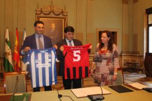 El Sporting de Huelva lucirá la marca Destino Andalucía.