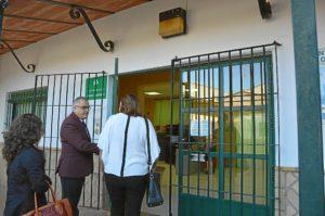Visita centro sanitario de El Rocio 2