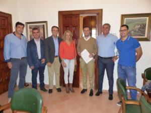 Convenio Ayuntamiento de Moguer con el Pedro Alonso Niño de Moguer.