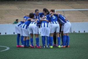 Jugadoras del Fundación Cajasol Sporting B.