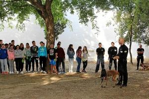 unidad canina en La Palma del Condado 7685prensa