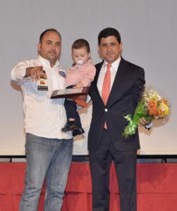 Manuel Guerrero de Paul, mejor deportista 2015 de  Ayamonte.