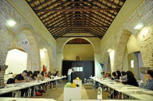 1 aula del curso. Ermita de San sebastian.