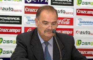 Benjamín Naranjo, presidente del Recreativo de Huelva.