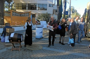 Bienvenida Azamara Journey Puerto de Huelva