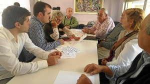 Candidatos UP-IU con Emigrantes Retornados