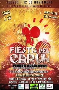 Cartel Fiesta CARUH 2015