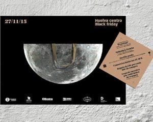 Cartel Huelva centro Black Friday 27 nov