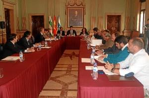 Comision Permanente Agrupacion Interes Infraestructuras de  Huelva