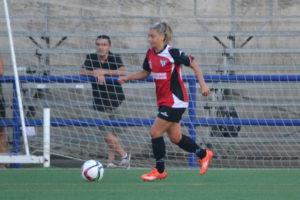 Verónica Napoli, jugadora del Cajasol Sporting.