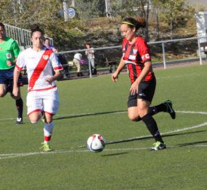 Rayo Vallecano-Cajasol Sporting. (Ignacio Coronel)