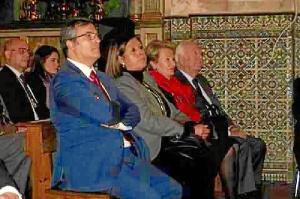 El Primer Teniente de Alcalde, Francisco Gonzalez durante el acto de entrega