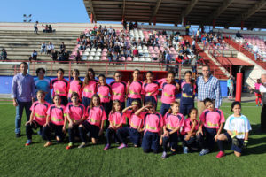 Equipo femenino de La Palma CF.