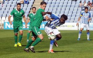 Keita fue titular ante el Algeciras. (Espínola)