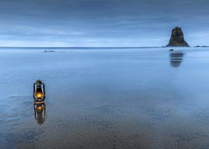 Segundo premio. 'Una luz en el mar'.