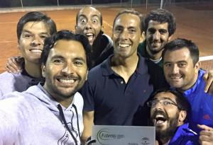 Integrantes del Recreativo de Tenis de Huelva.
