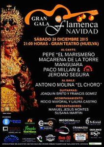 cartel gala flamenca victoria
