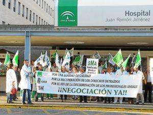 concentraciones protesta sanidad huelva 19