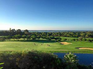 vista desde el Hotel Precise Golf El Rompido